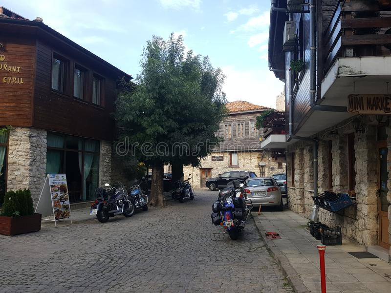 Bulgaria, Nesebar - old town. royalty free stock image