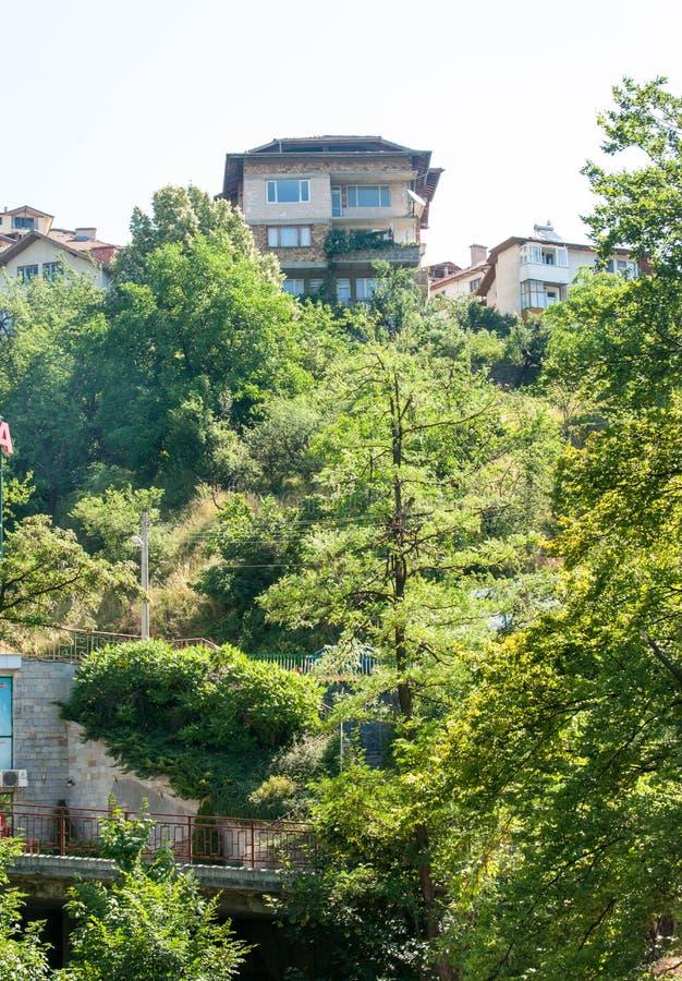 Bulgaria. Smolyan mountain architecture royalty free stock images