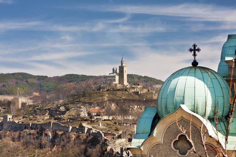 bulgaria tarnovoveliko royaltyfri foto