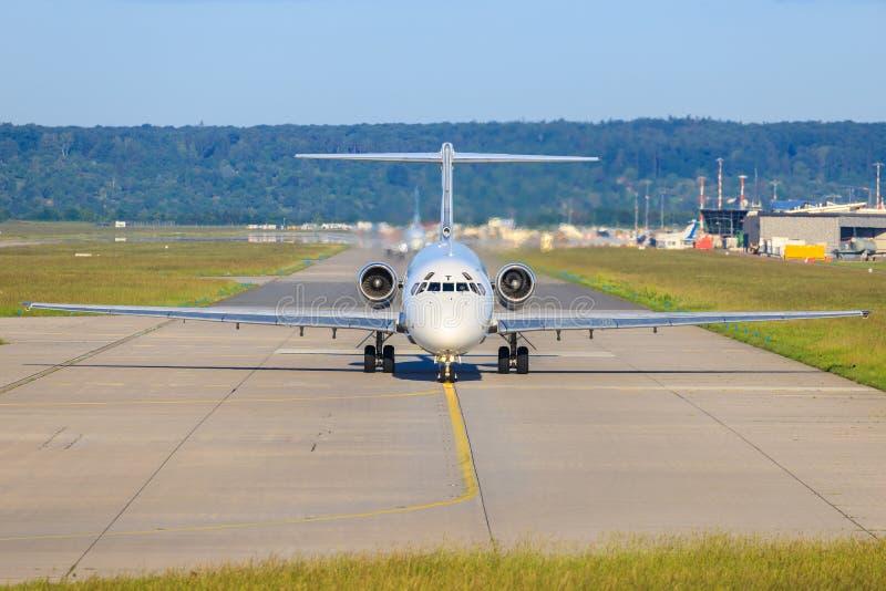 Bulgarian Air Charter McDonnel Douglas MD-82 LZ-LDS photographie stock