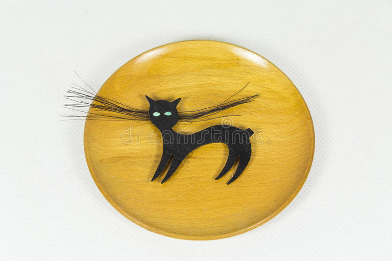 Bulgarian cat with the severed tail stock photography
