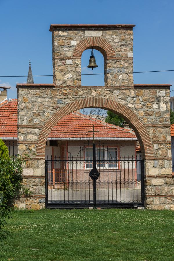Bulgarian church of Saint Constantine and Saint Helena in city of Edirne, Turkey. Bulgarian church of Saint Constantine and Saint Helena in city of Edirne, East royalty free stock photo