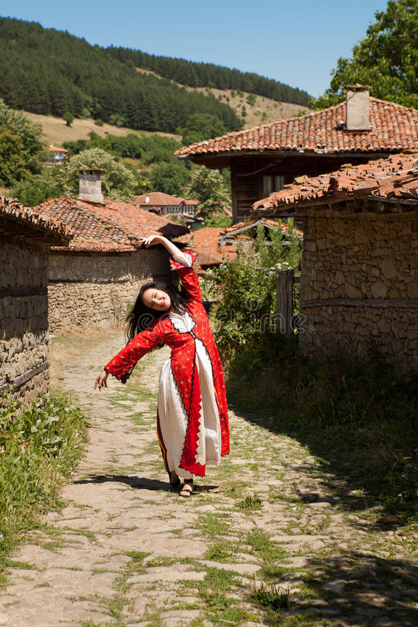 Download Bulgarian folklore stock image. Image of jeravna, national - 24697955