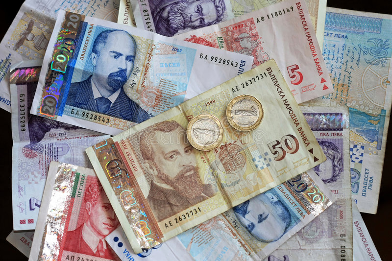 Bulgarian Lev royalty free stock image