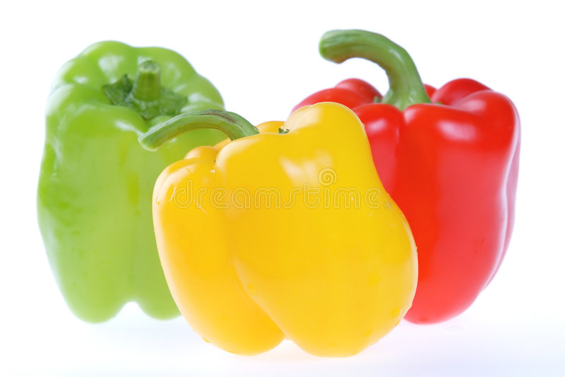 bulgarian peppargrönsaker royaltyfri bild