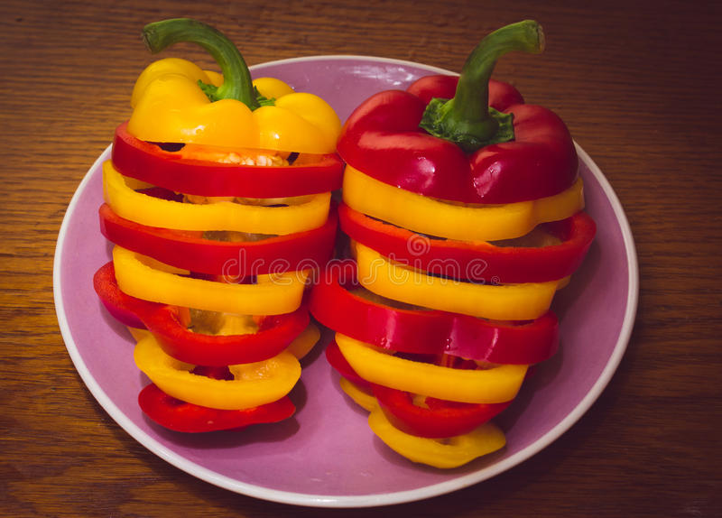 Download Bulgarian pepper stock photo. Image of diet, healthy - 64032562