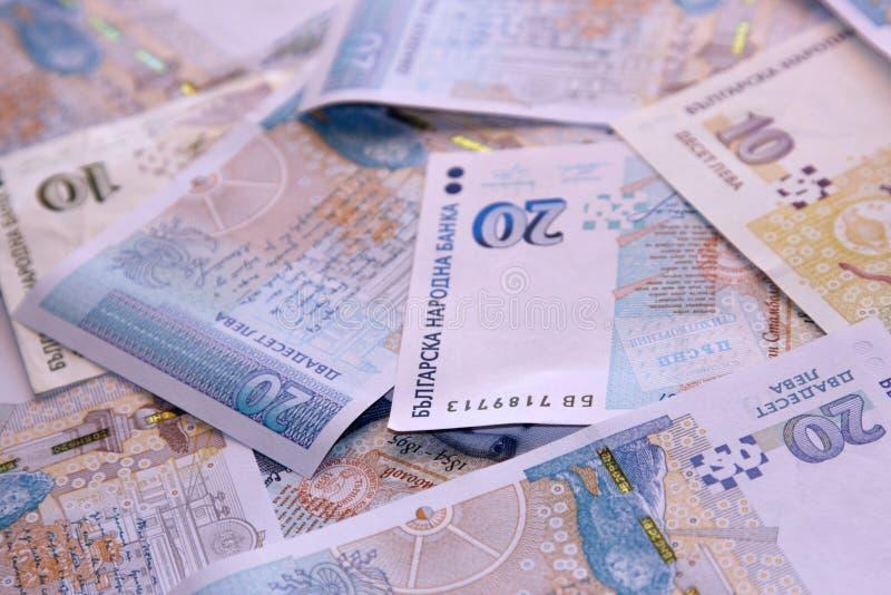 bulgarian waluty krajowej obrazy stock
