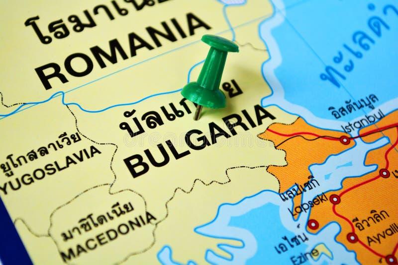 Bulgarienöversikt fotografering för bildbyråer