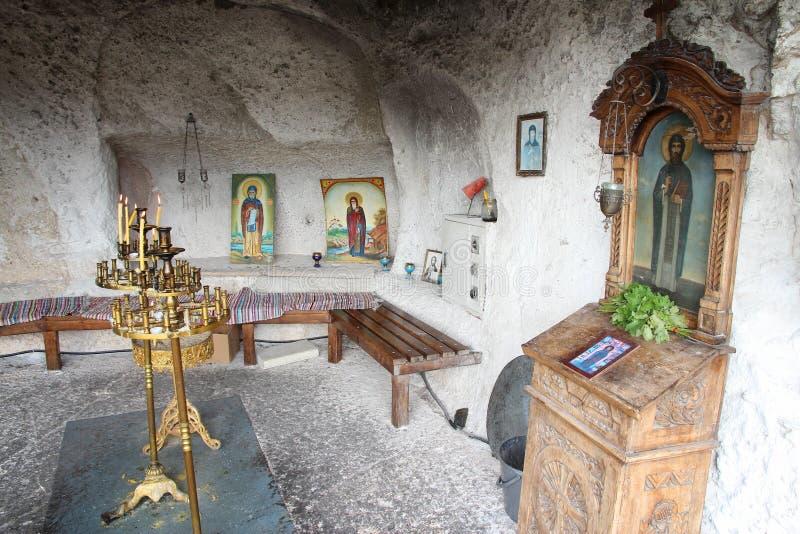 Bulgarien-Felsenkirche lizenzfreies stockfoto