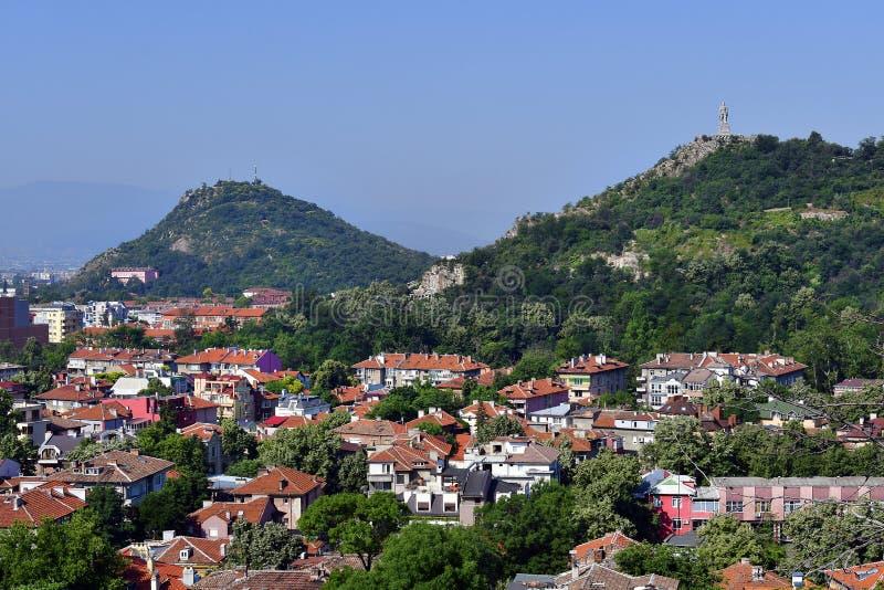 Bulgarien, Plowdiw, Stadtbild lizenzfreie stockfotos