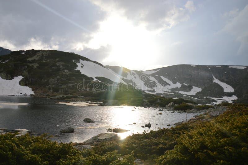 Bulgarien Rila - sieben Seen lizenzfreies stockfoto