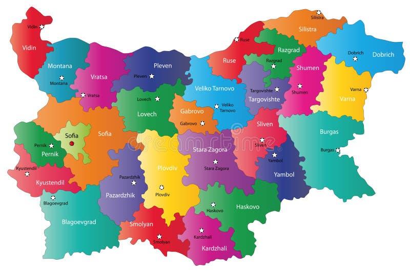 Bulgarije royalty-vrije illustratie