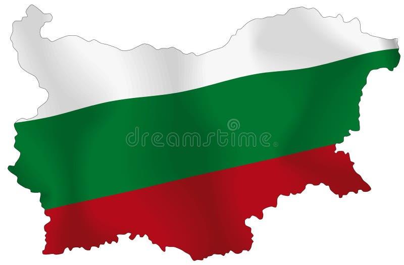 Bulgarije vector illustratie