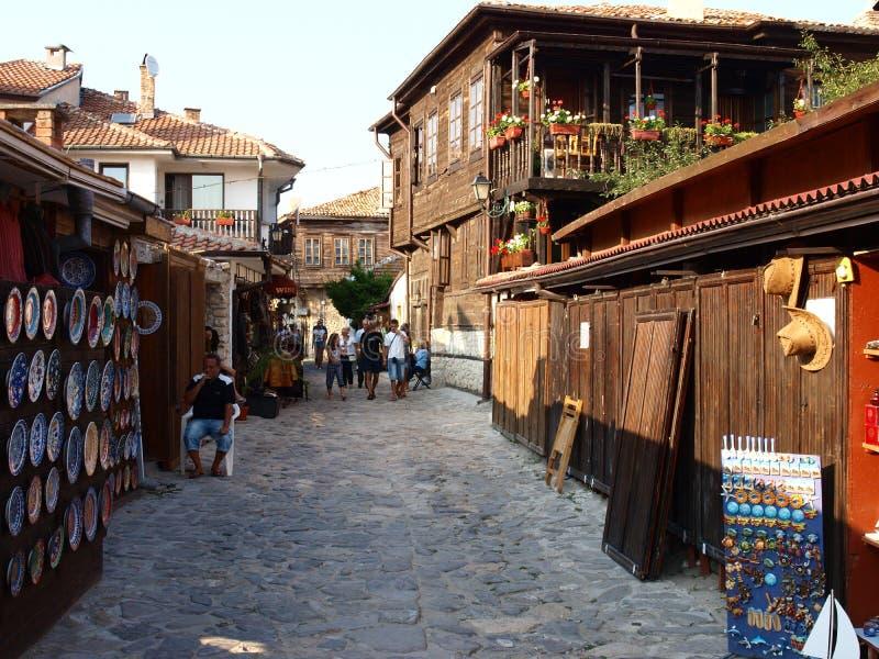 Bulgarije, Nessebar (1) stock fotografie