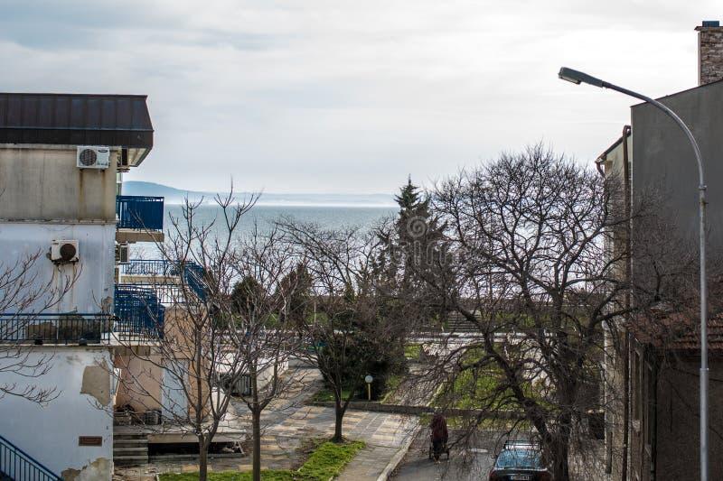 Bulgarije, Pomorie-toevlucht royalty-vrije stock afbeelding
