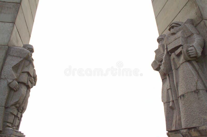 Bulgarische Monumentdetails lizenzfreie stockfotografie