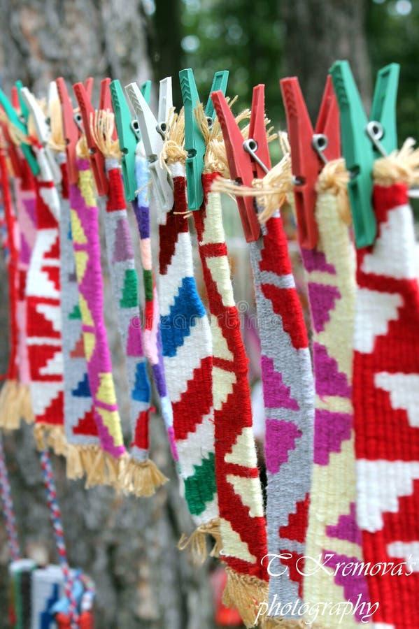 Bulgarische ournaments stockbilder