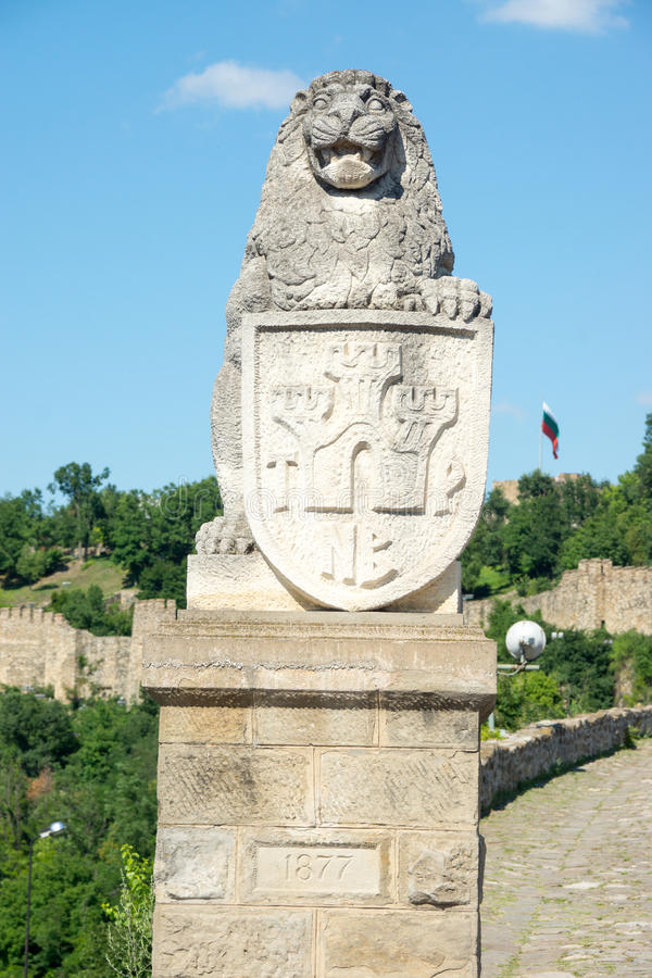 Bulgarischer König in Veliko Tarnovo lizenzfreies stockfoto
