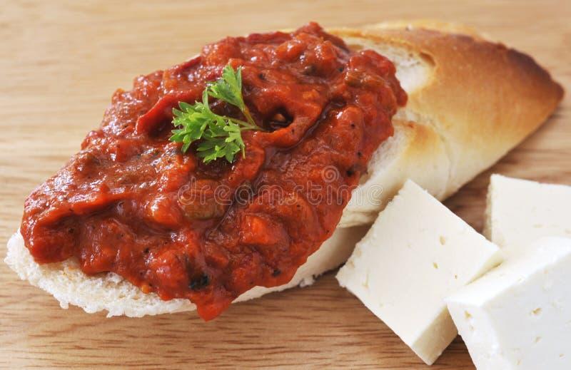 Bulgarisches Chutney lizenzfreie stockbilder