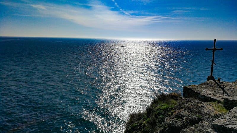 Bulgarisches Meer stockfotos