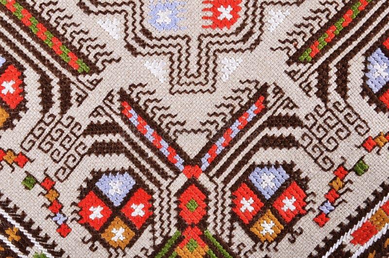 Bulgarisk handbroderi royaltyfri foto