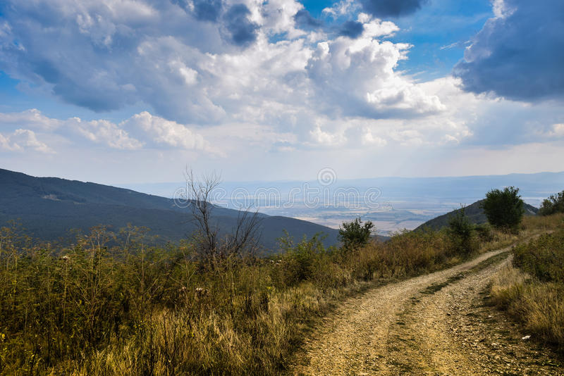 Bulgariskt landskap royaltyfri bild