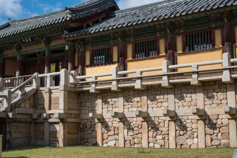 Bulgoksa - Tempels van Korea stock foto