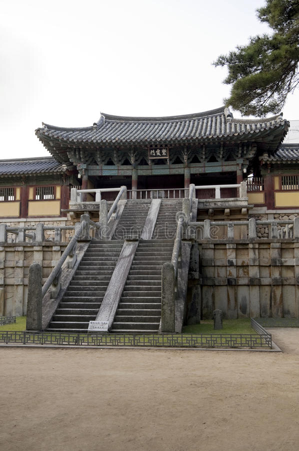 Bulguksa Temple, South Korea stock photo
