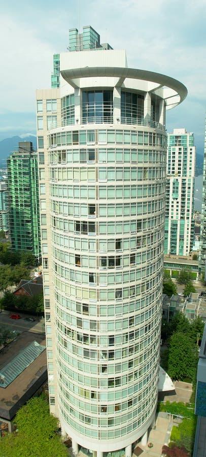 buliding wysoki wzrost Vancouver obraz stock