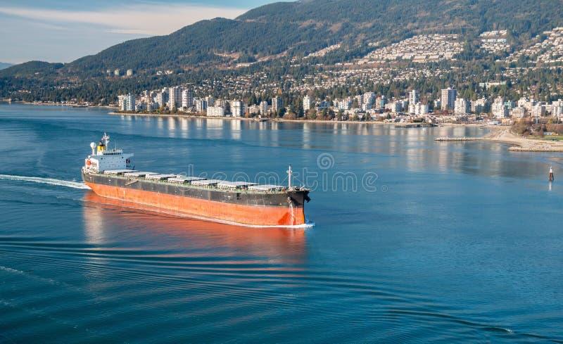 Bulk Carrier royalty free stock photos