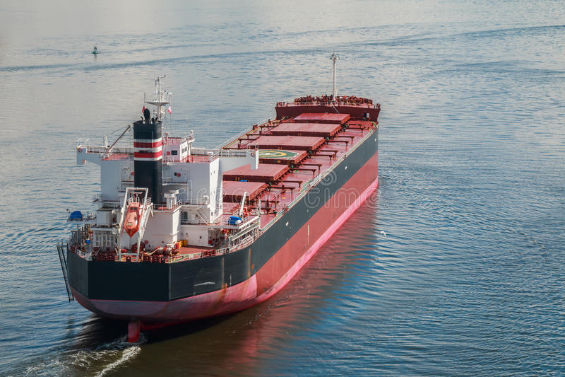Bulk Carrier royalty free stock photography