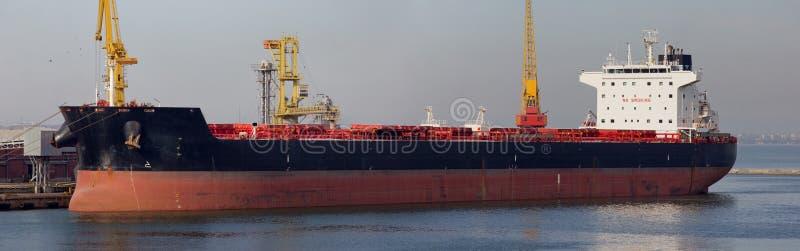 Bulk carrier stock image