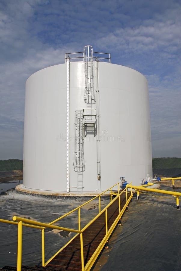 Bulk Storage Tank Royalty Free Stock Image