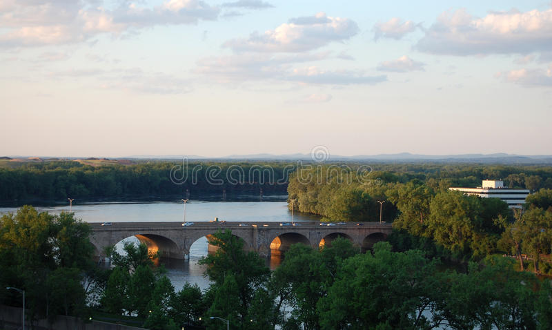 Bulkeley Brücke lizenzfreies stockbild