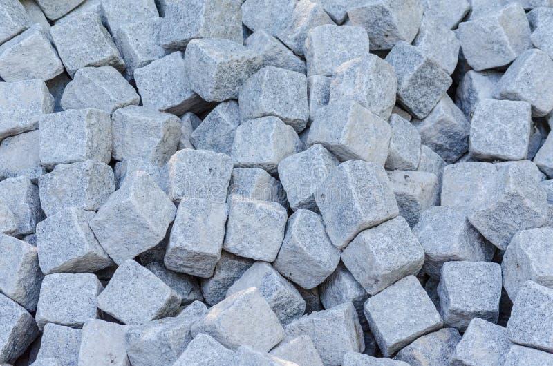Bulkmateriaal, zandsteen, natuursteen, het pakhuis van de steengroevesteen stock foto