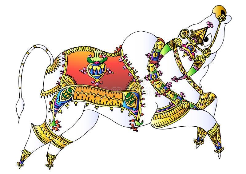 Bull royalty illustrazione gratis