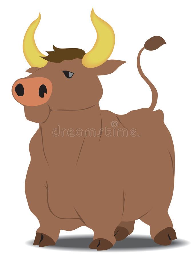Bull Royalty Free Stock Images