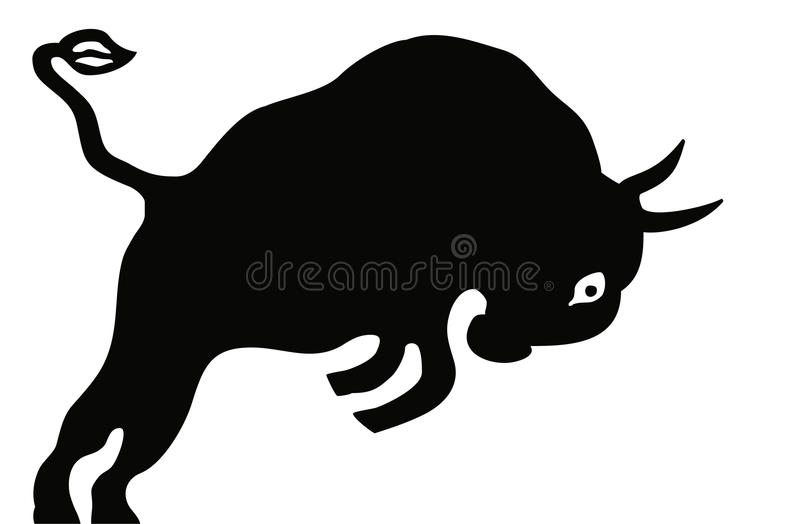 Download Bull stock vector. Illustration of mascot, image, line - 19947713
