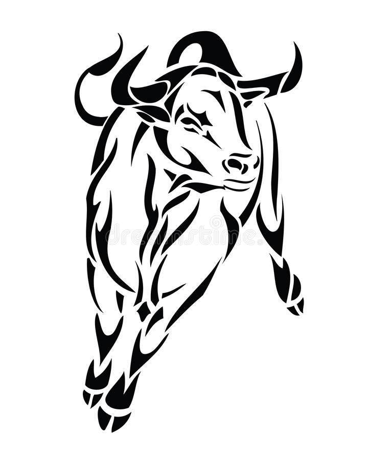 Bull illustration libre de droits