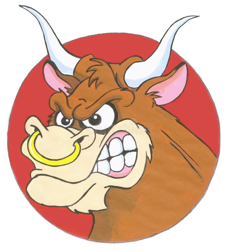 Bull stock illustration