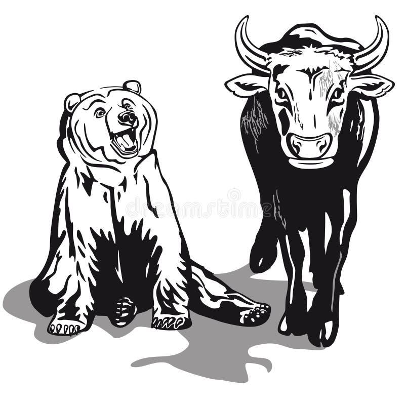 Download Bull And Bear Royalty Free Stock Photo - Image: 30469665
