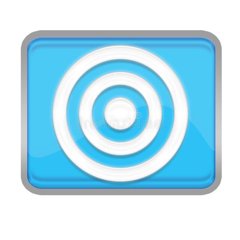 Download Bull eys symbols stock illustration. Image of rounds, bulleyes - 4586547