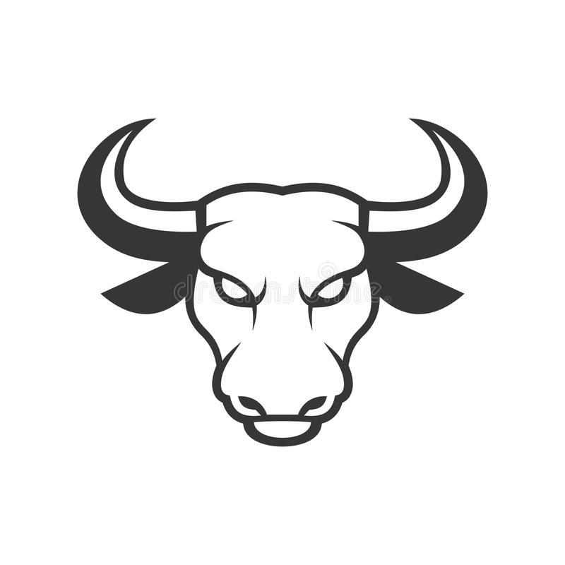 Report Abuse - Bull Head Stencil - Free Transparent PNG Clipart Images  Download