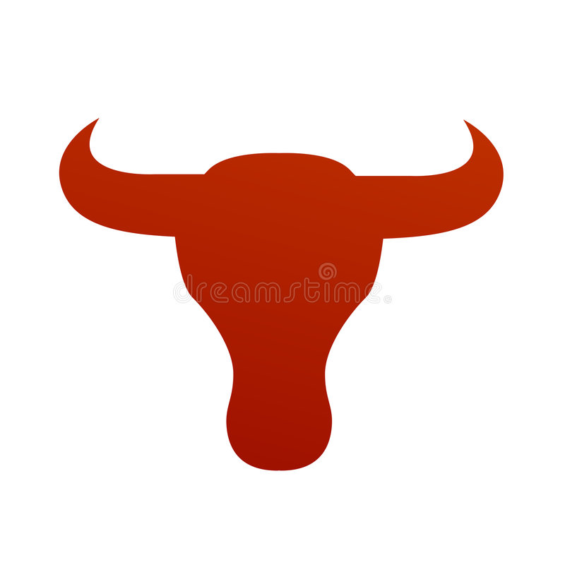 Free Bull Face Vector Stylized Royalty Free Stock Images - 9100709