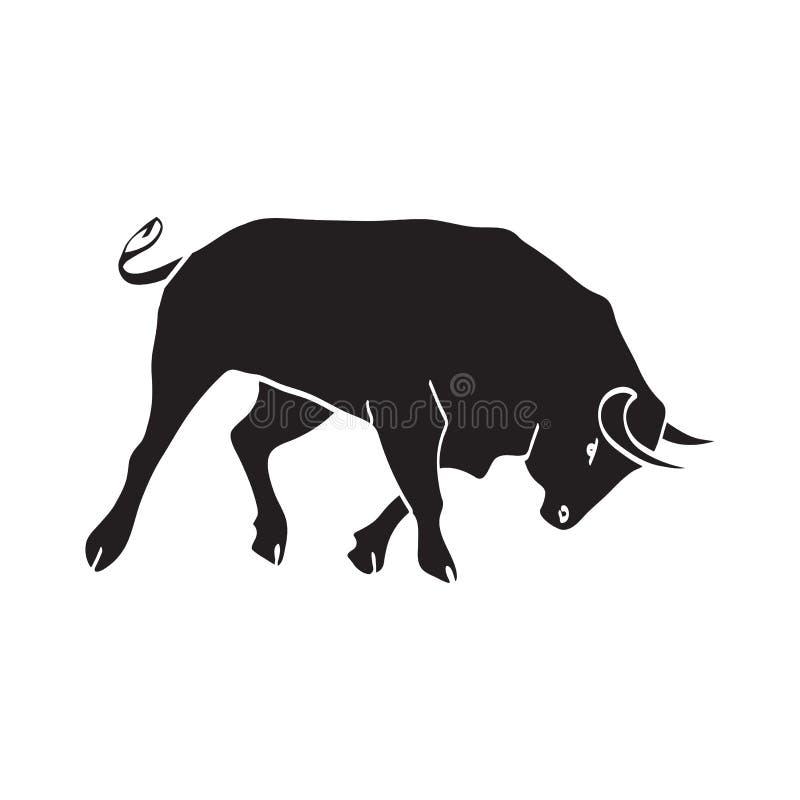 Bull - l'Espagne illustration libre de droits