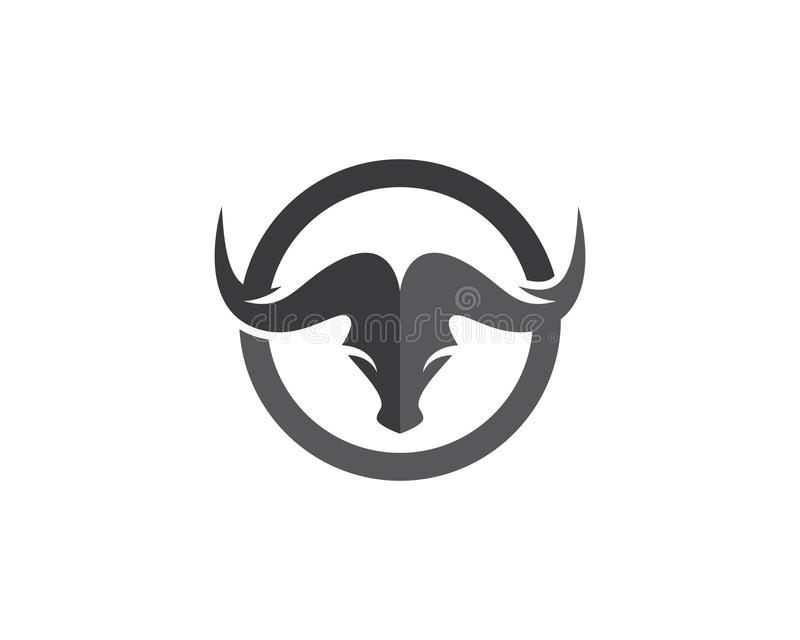 Bull Logo Template libre illustration