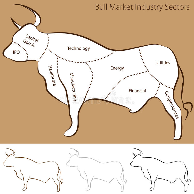 Download Bull Market Industry Sectors Stock Images - Image: 23483474