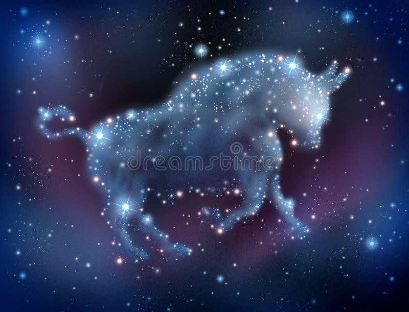 Bull Market Predictions vector illustration