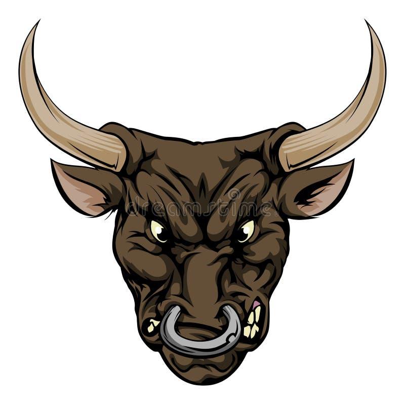 Free Bull Mascot Character Royalty Free Stock Photos - 41957168