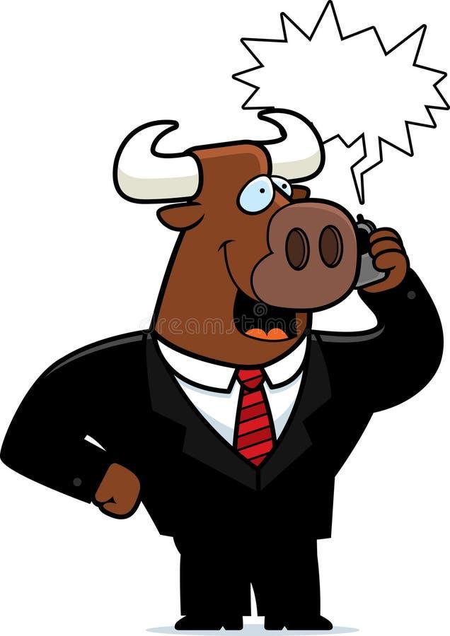 Free Bull Phone Stock Images - 14633174